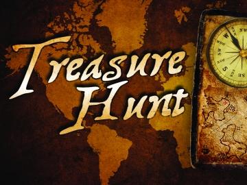 Treasure hunt! Vânătoare de comori